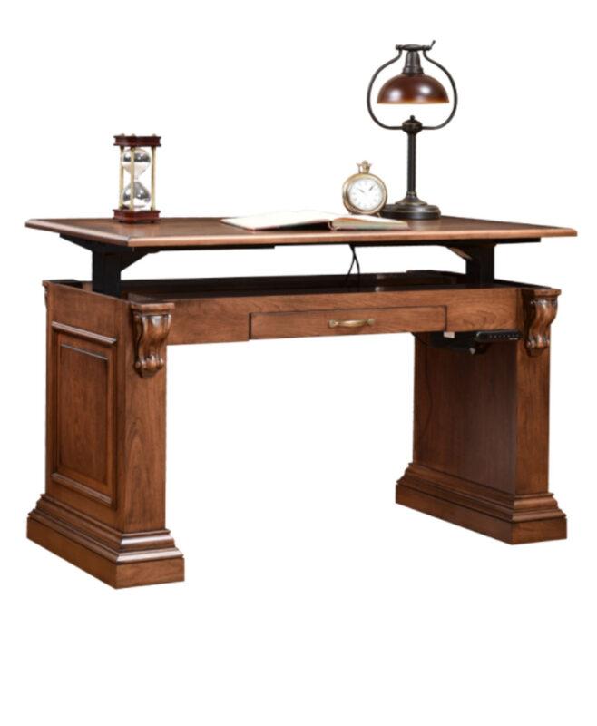 Bradford Writing Desk [Optional Uplift Electronic Mechanism]