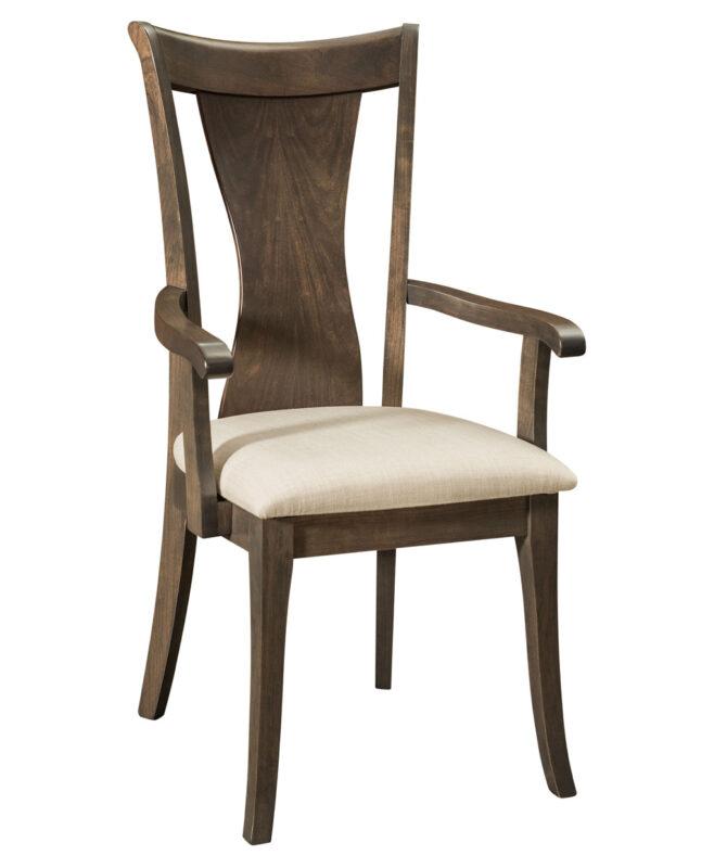 Wellsburg Amish Dining Chair [Arm Chair]