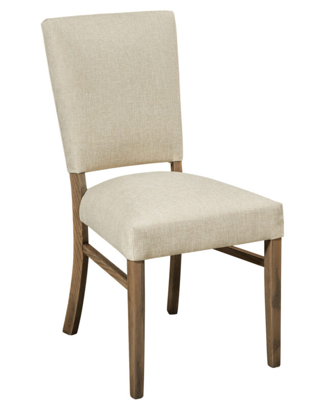 Warner Dining Chair [Shown in Oak with FC 15443 stain. Seat shown in C2-11 Canvas fabric]