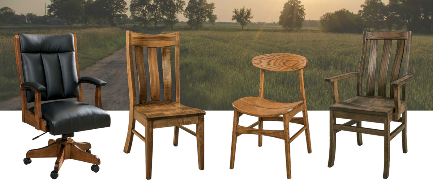 New Amish Chairs For 2018 From Amish Direct Furniture