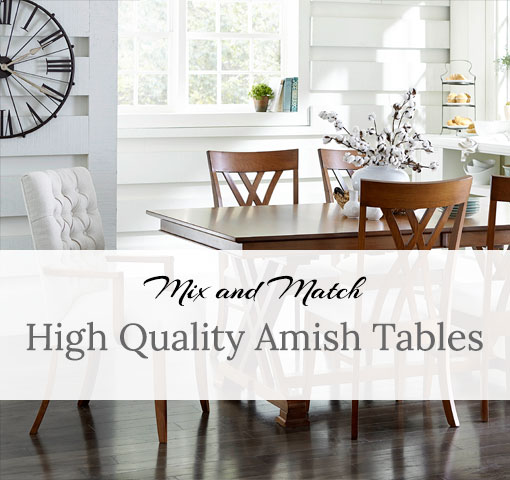 How Many People Can You Sit At A Table Amish Direct Furniture