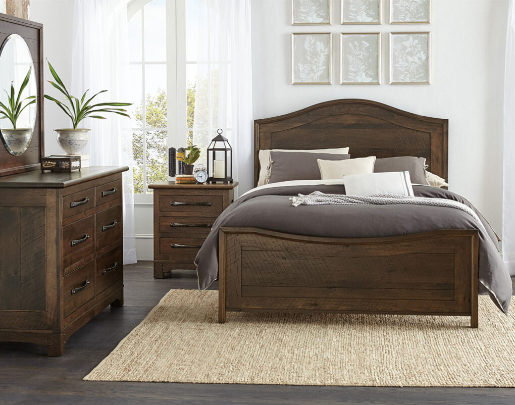 Farmhouse Loft Amish Bedroom Set