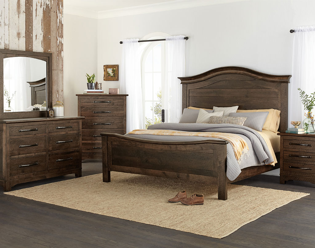Amish Direct Furniture: Farmhouse Amish Bedroom Set