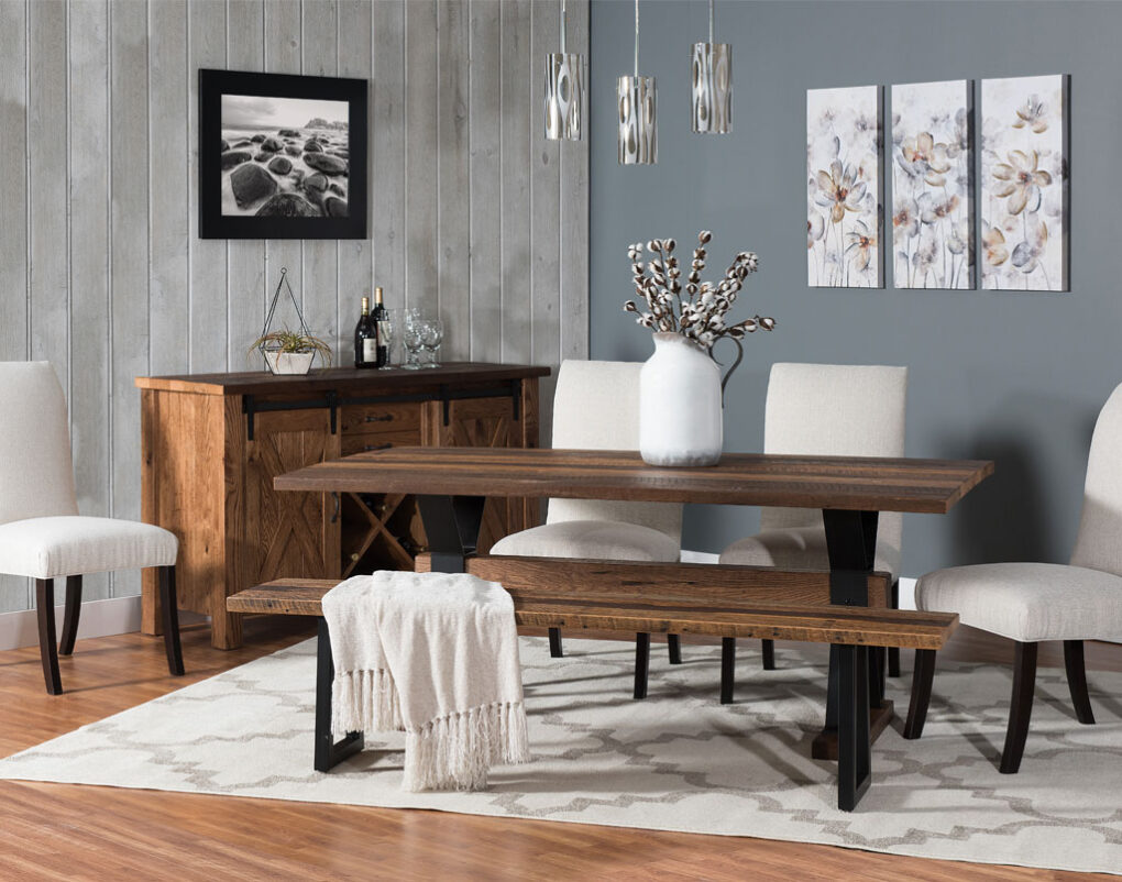 Barn Loft Amish Table Set