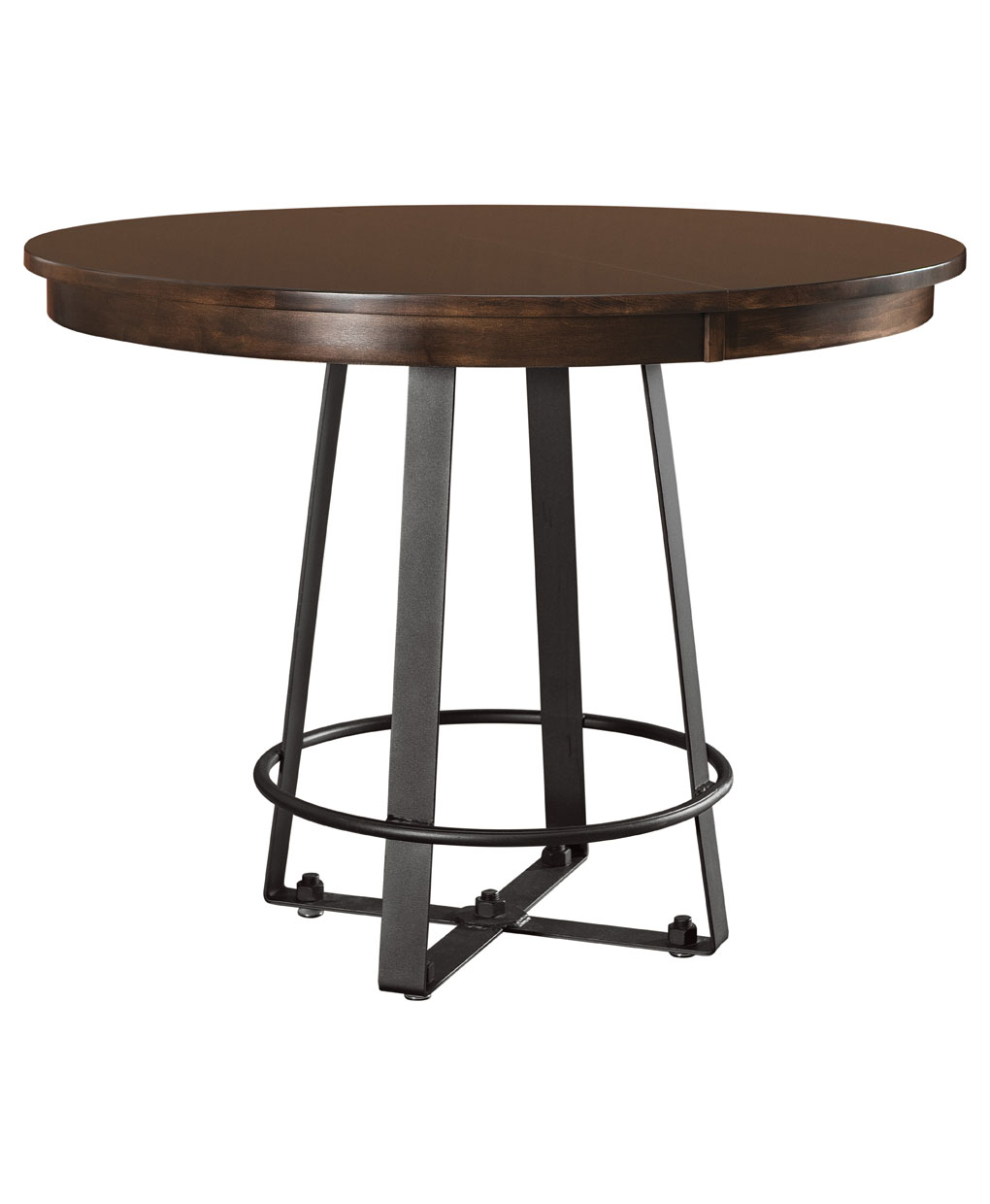Iron craft pub table amish direct furniture iron craft pub table watchthetrailerfo