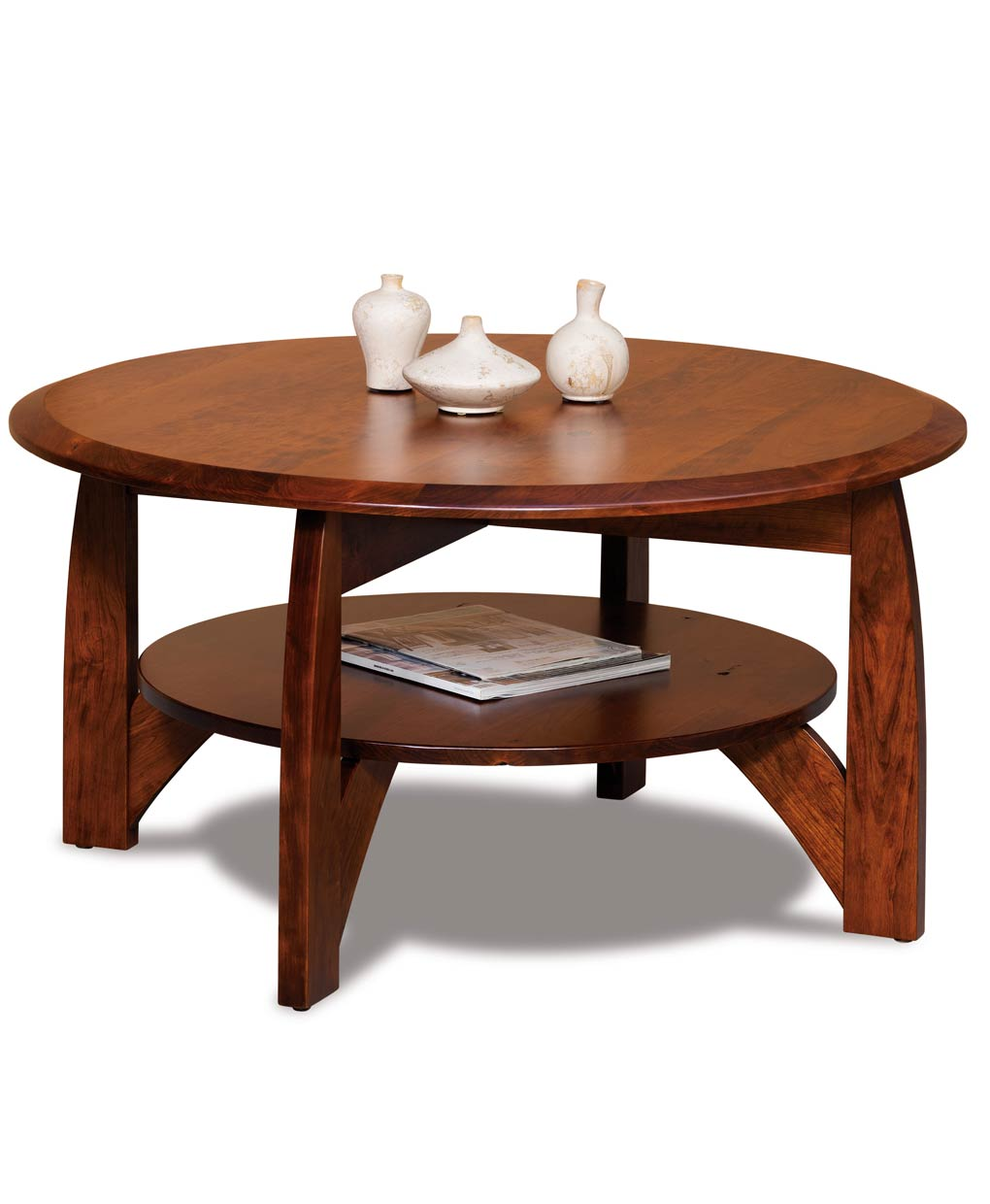 Pine Brook Boulder Mountain Residence Living Room: Boulder Creek Round Coffee Table