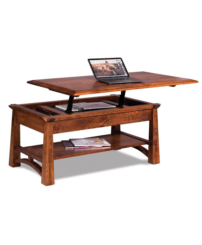 Artesa Lift Top Coffee Table Amish Direct Furniture