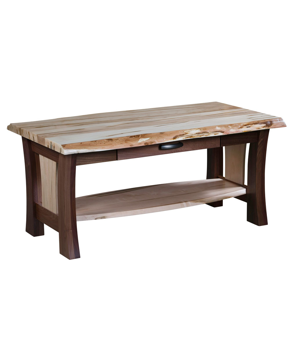 Legacy Live Edge Coffee Table Amish Direct Furniture