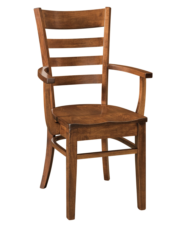 Brandberg Amish Dining Chair [Arm Chair]
