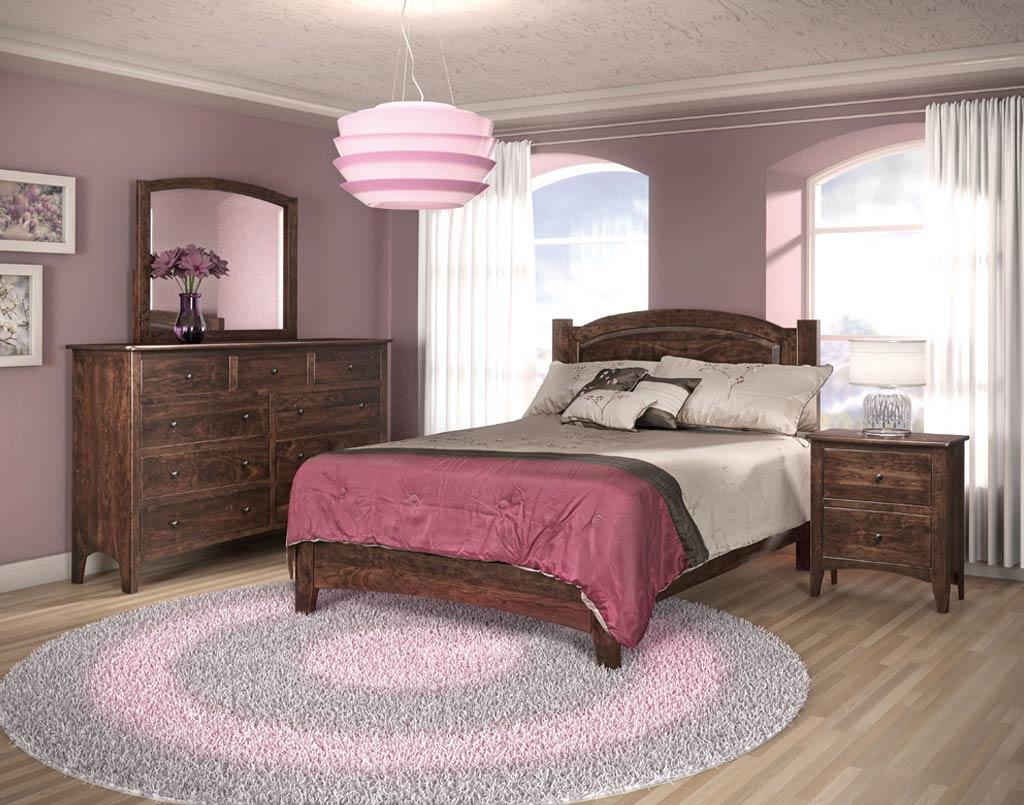 Carlston Amish Bedroom 4 Piece Set Amish Direct Furniture